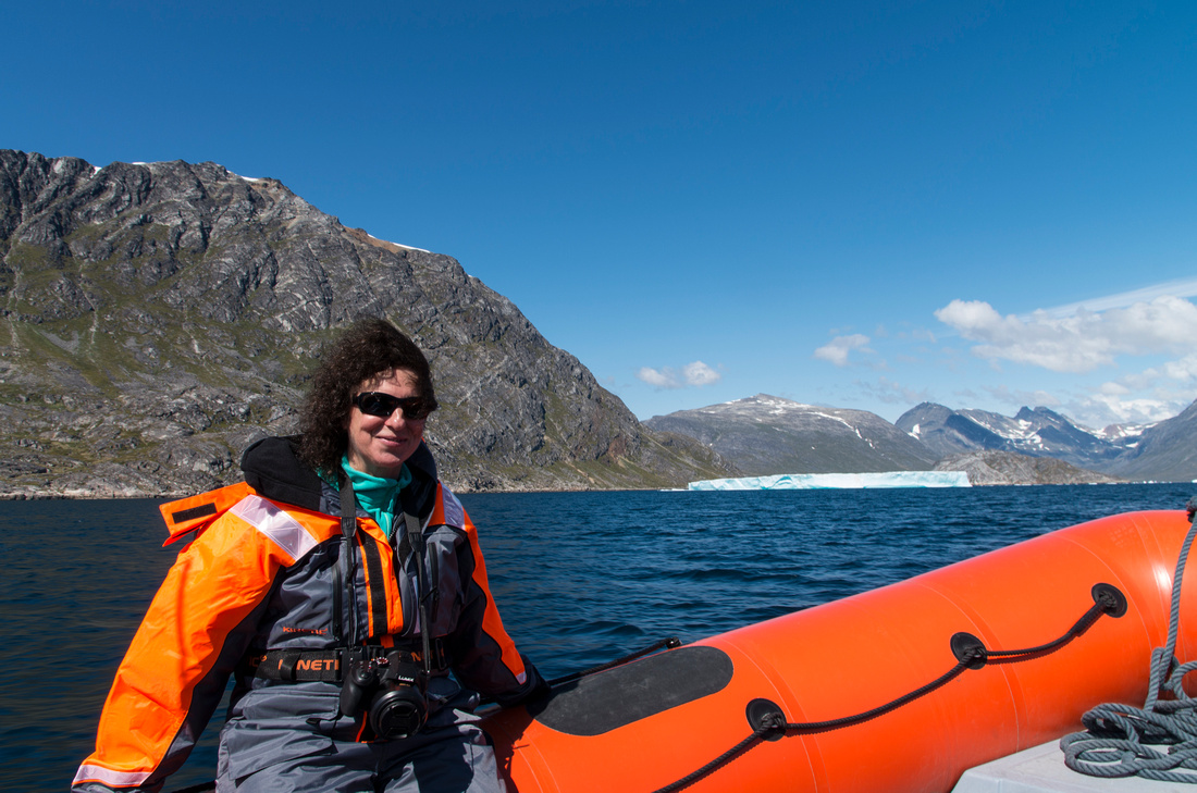 Rib boat journey up the Tasermiut Fjord
