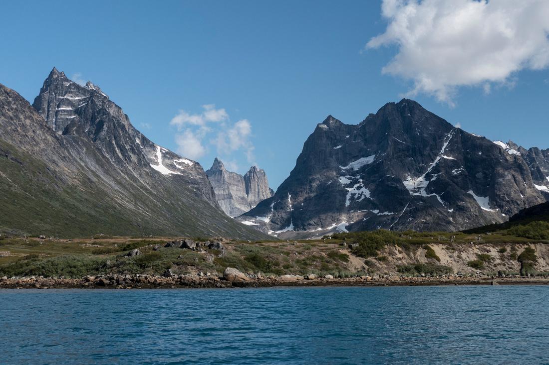 Klosterdalen from Tasermiut Fjord