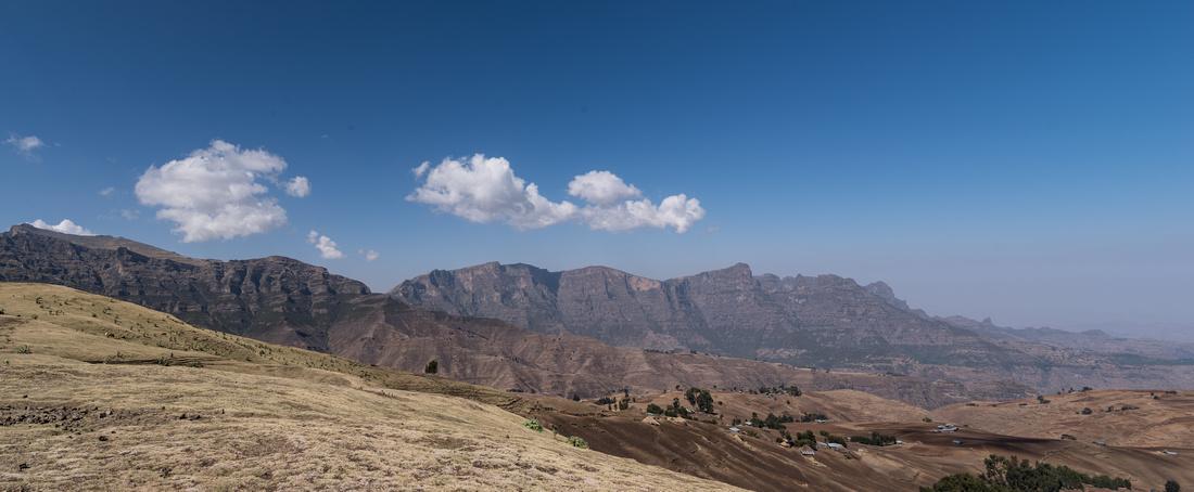 The Simien Mountain Escarpment, Ethiopia