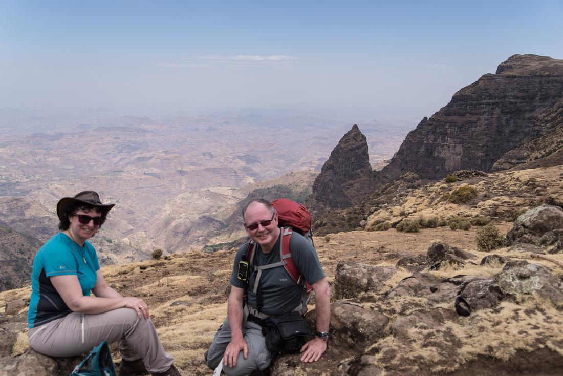 View from the Escarpment, Simien Mountains National Park, Ethiopia