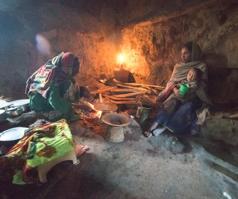 The Coffee Ceremony, Arquzye Village, Simien Mountains, Ethiopia