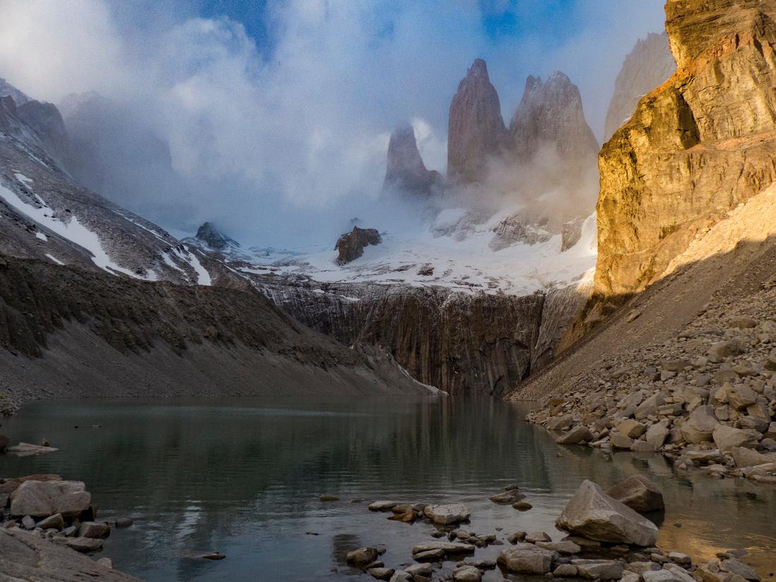 The Torres del Paine