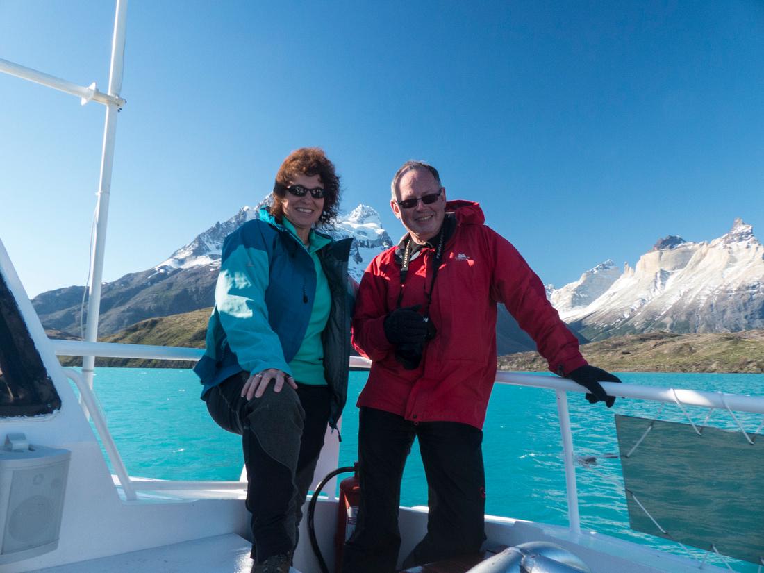 On the Hielos Patagónicos catamaran