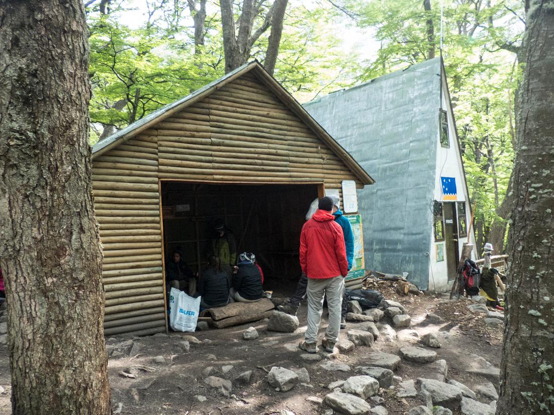 Mess hut at Campamento Torres