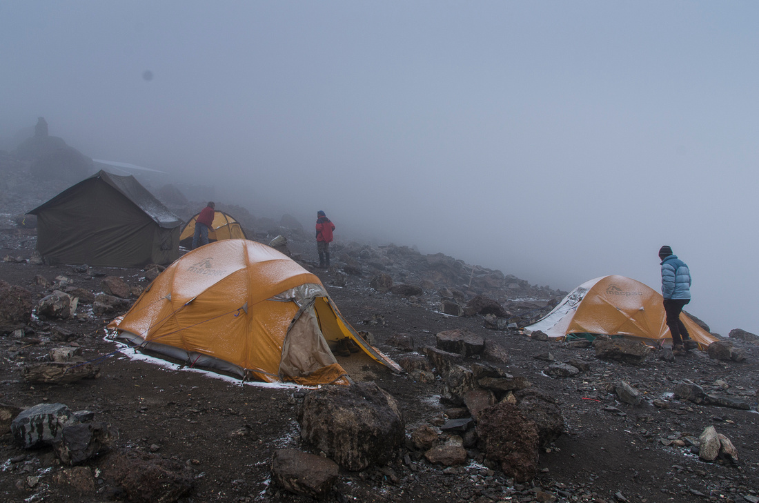 Barafu Hut (4,662 metres)