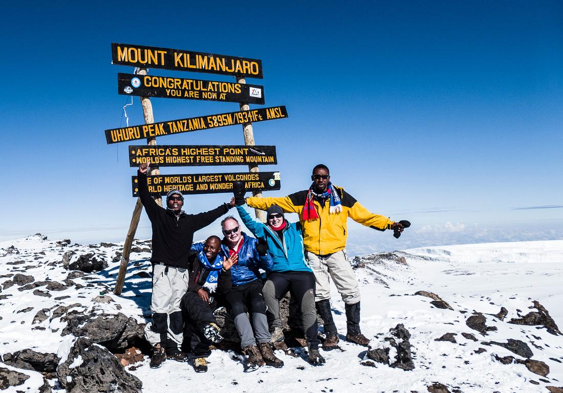 Uhuru Peak (5,895 metres)