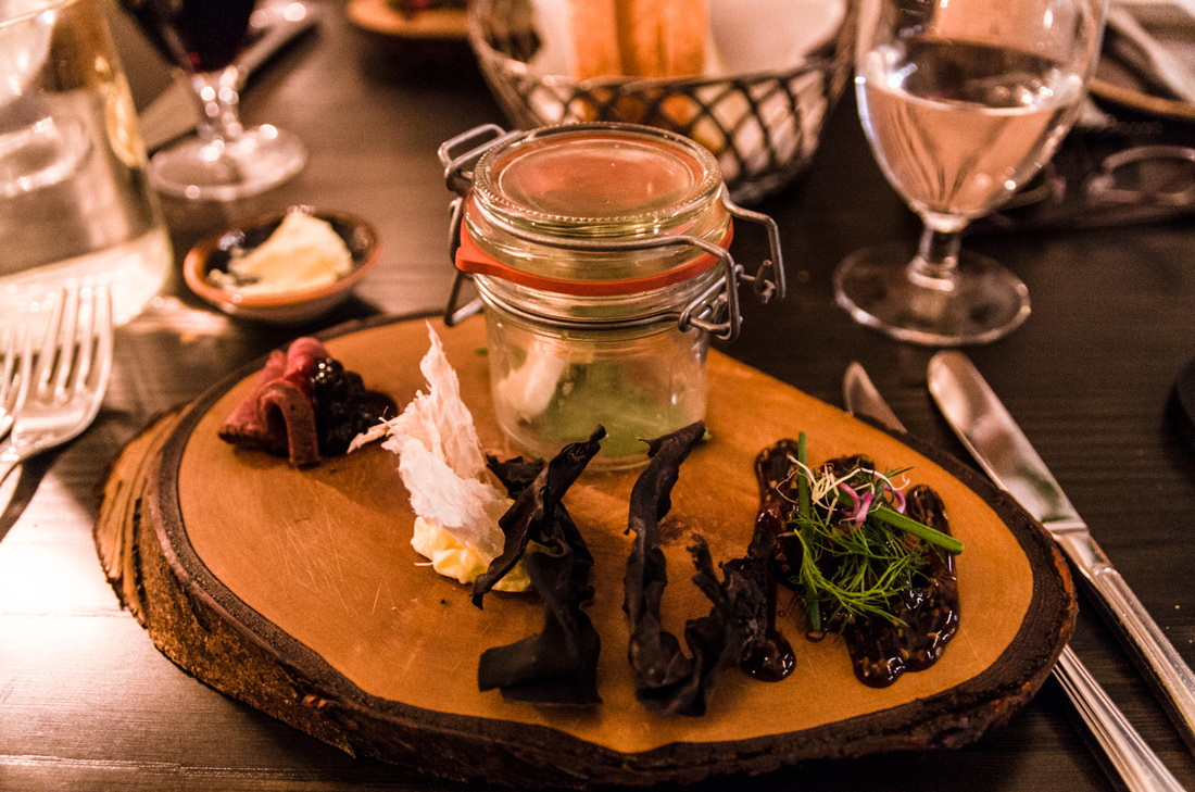 Þorramatur, tasters of some traditional dishes
