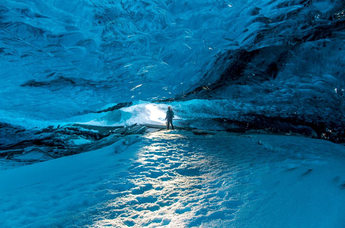 Ice cave, Breiðamerkurjökull