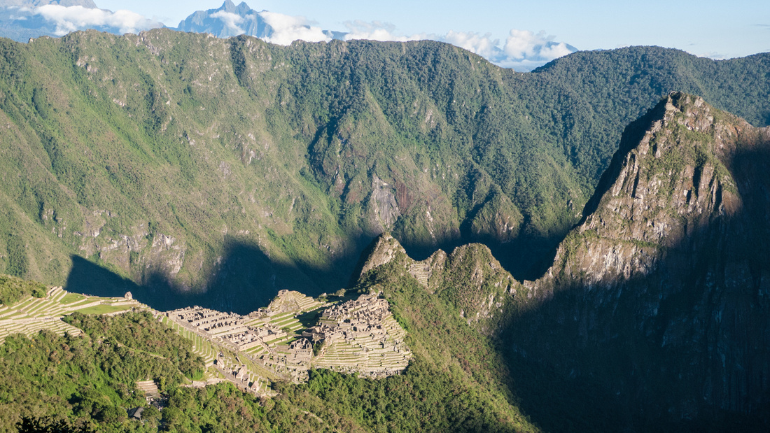 Machu Picchu, The Lost City of the Incas just after dawn
