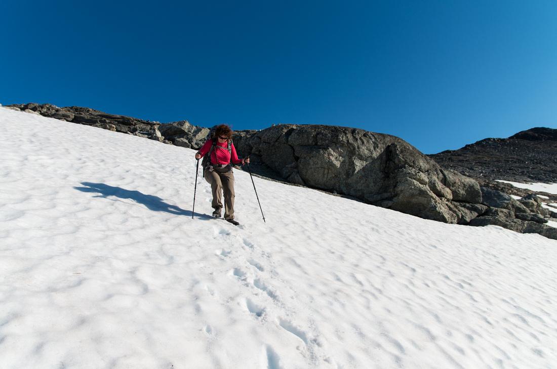 Alpine conditions!