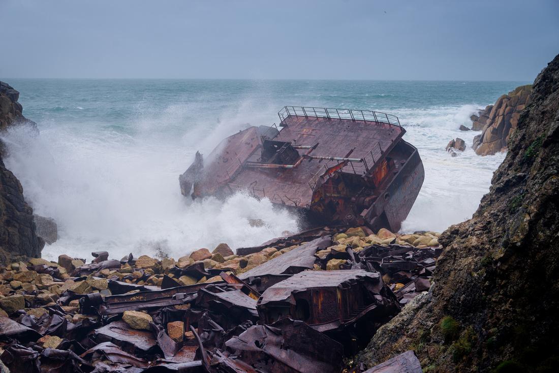 The wreck of RMS Mülheim