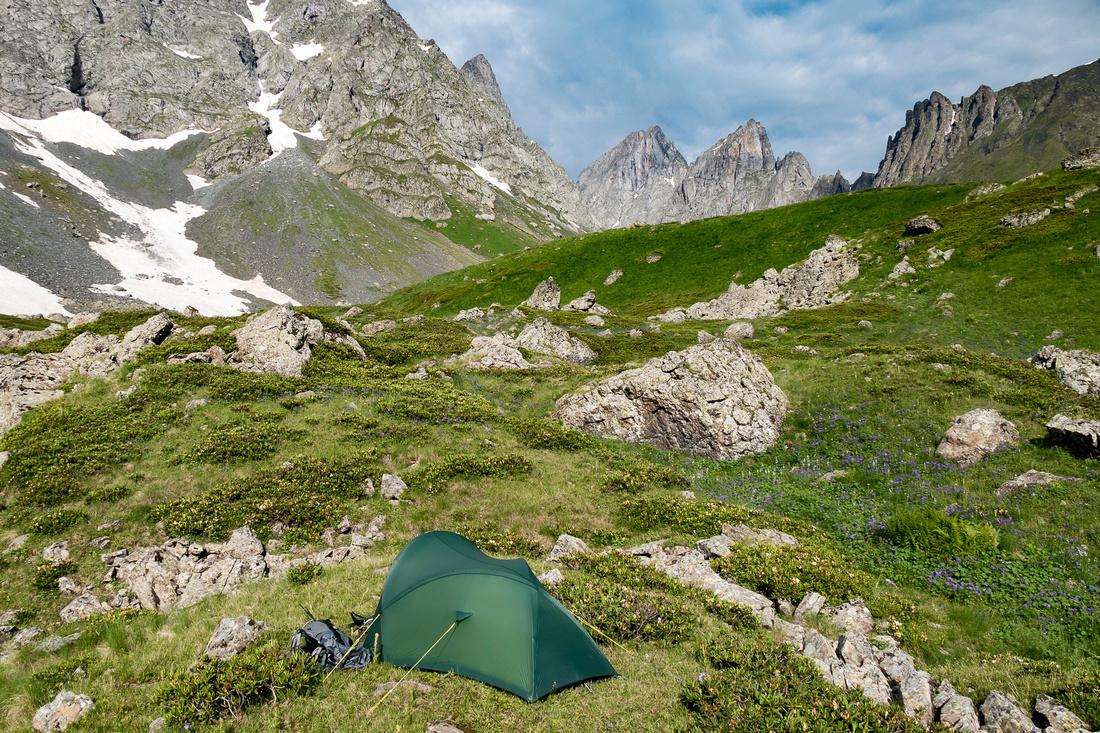 Wild Camp at the Blue Lake