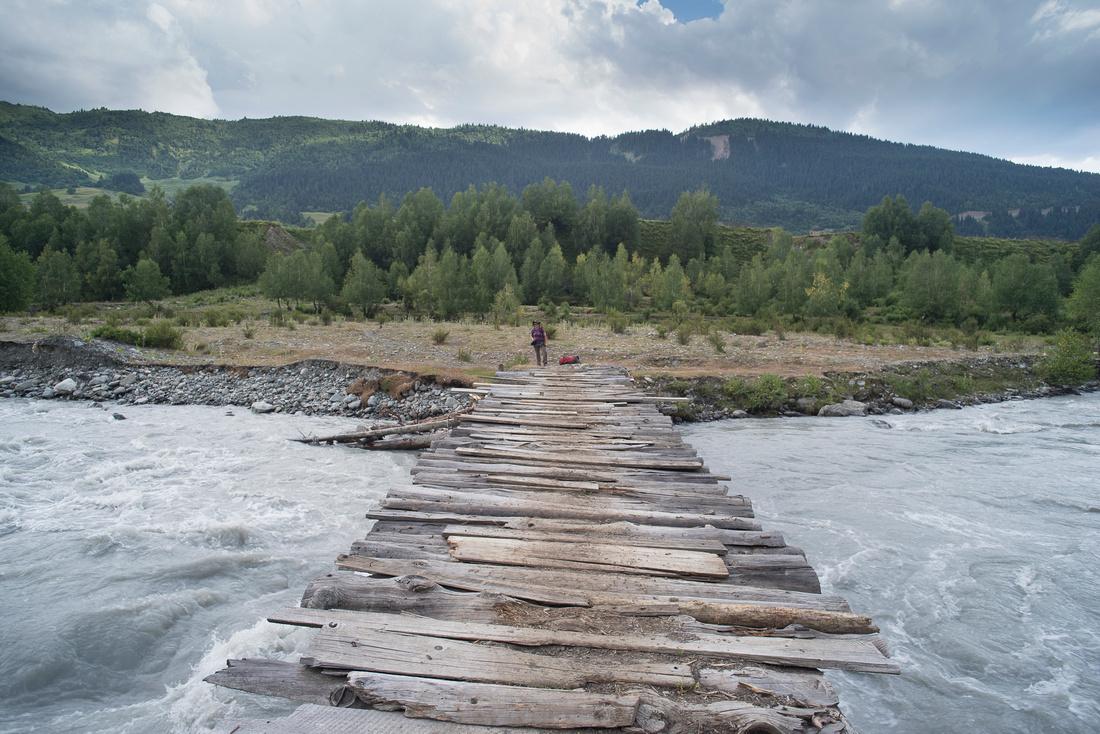 Bridge over the Mulkhara River