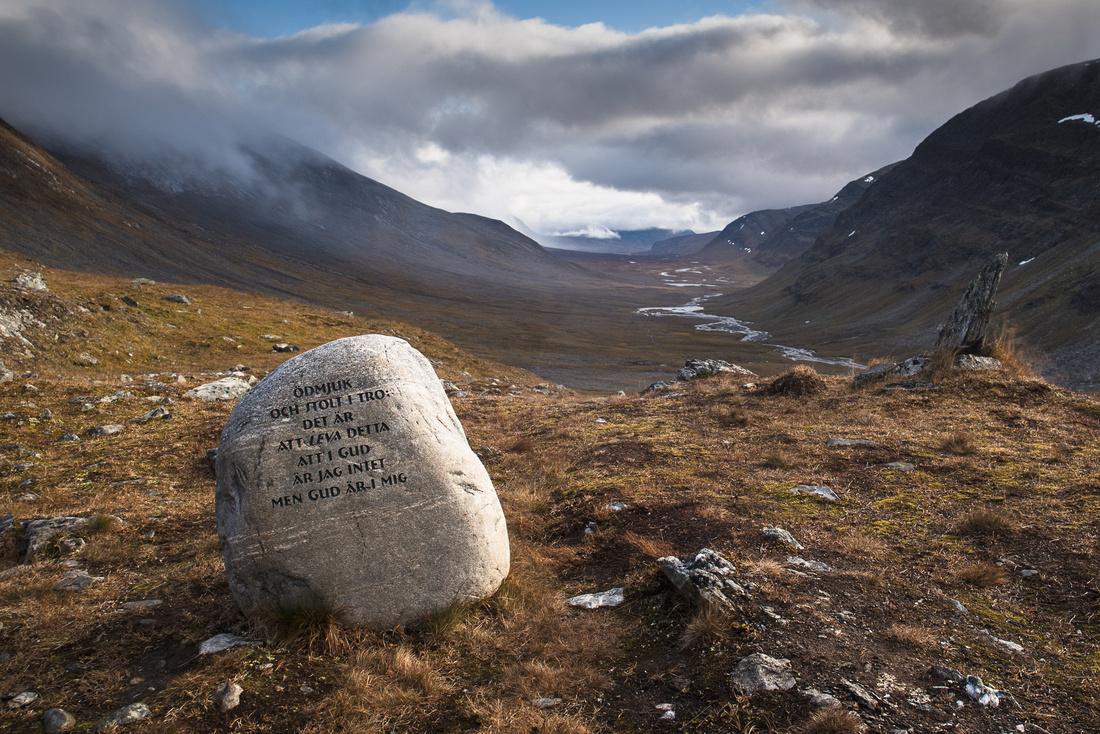 Fourth meditation point on the Dag Hammarskjöldleden