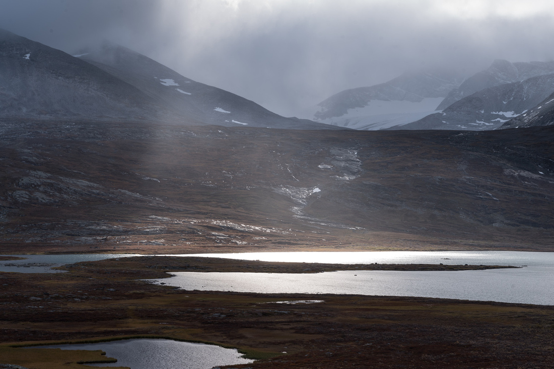 Cloudy morn at Lake Rádujávri