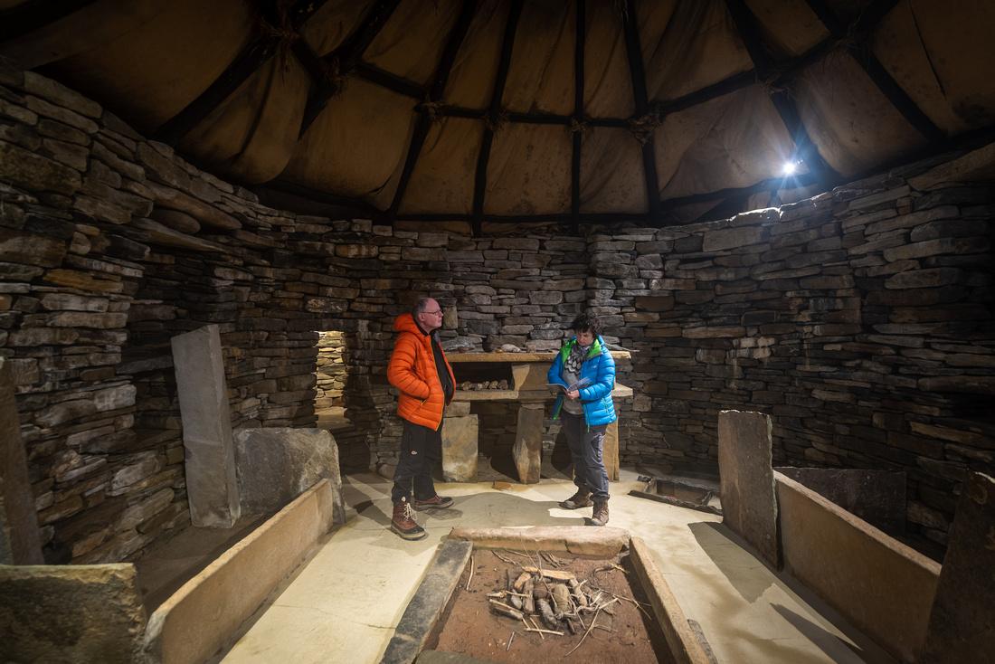 Replica House, Skara Brae