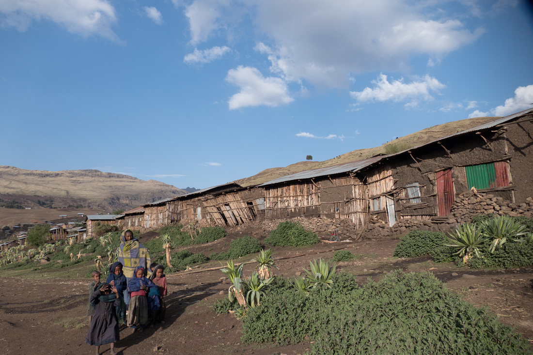 Arkazye Villagers, Simien Mountains, Ethiopia
