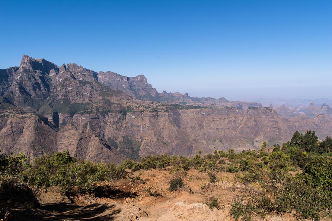 Simien Mountain Escarpment
