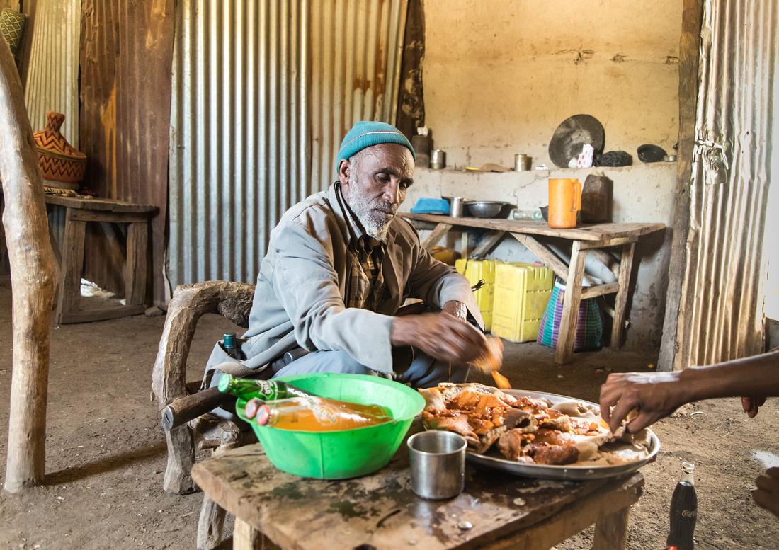 Cafe in Haweza Village