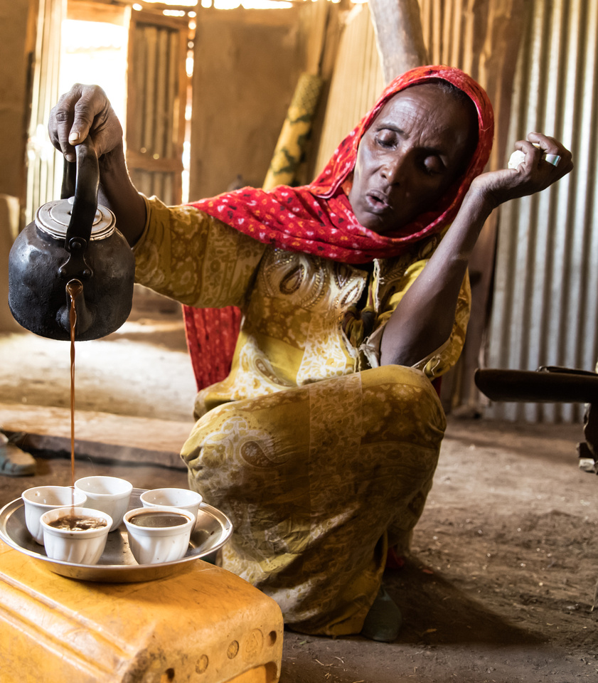 Coffee Ceremony, Haweza Village