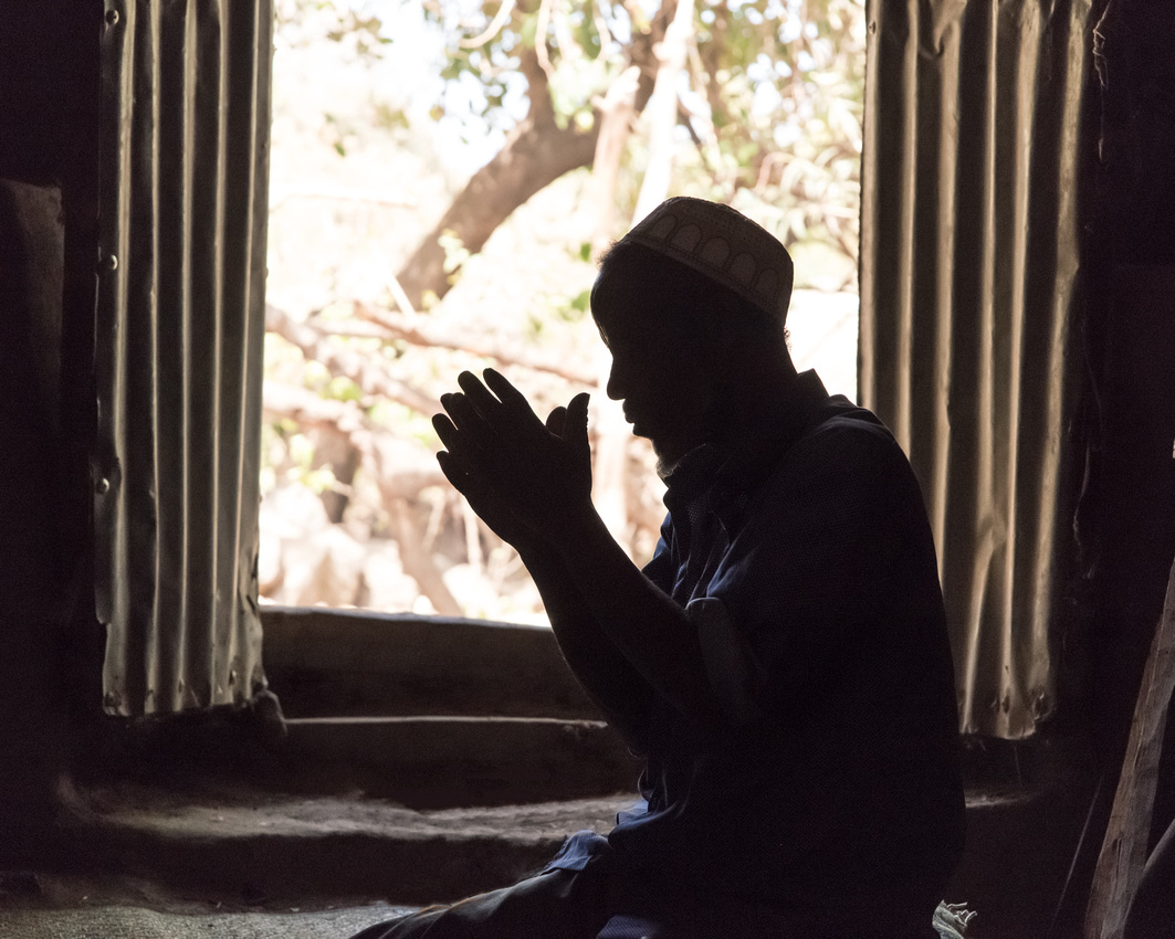 Afternoon prayers in Haweza