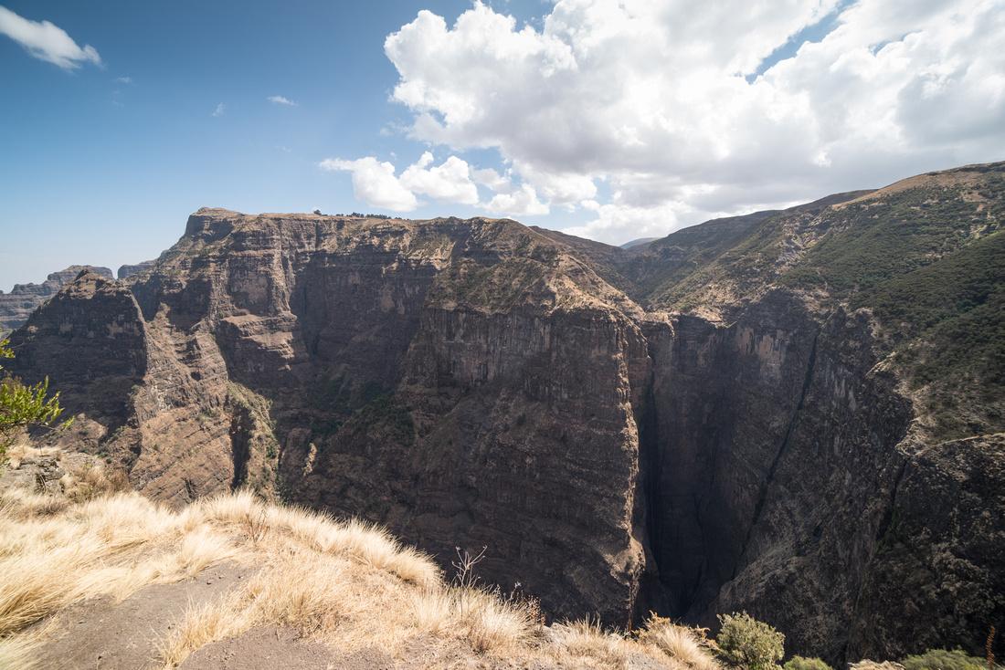 Jinbar Waterfall, Simien Mountains, Ethiopia
