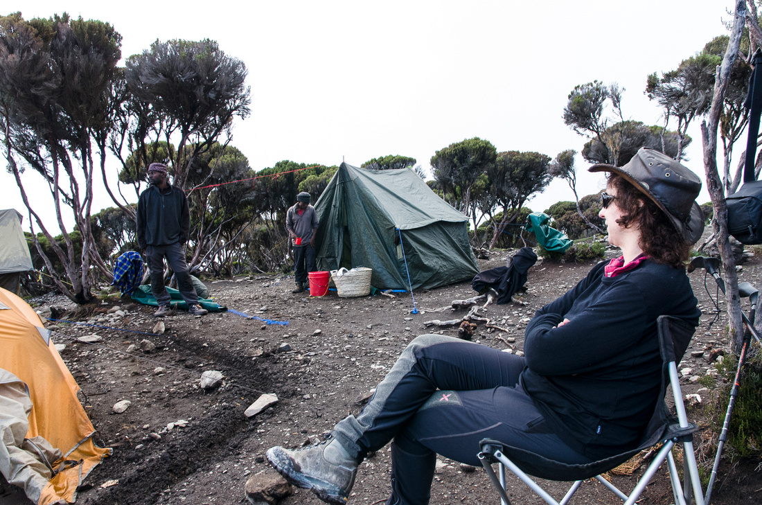 Taking Five at High Camp