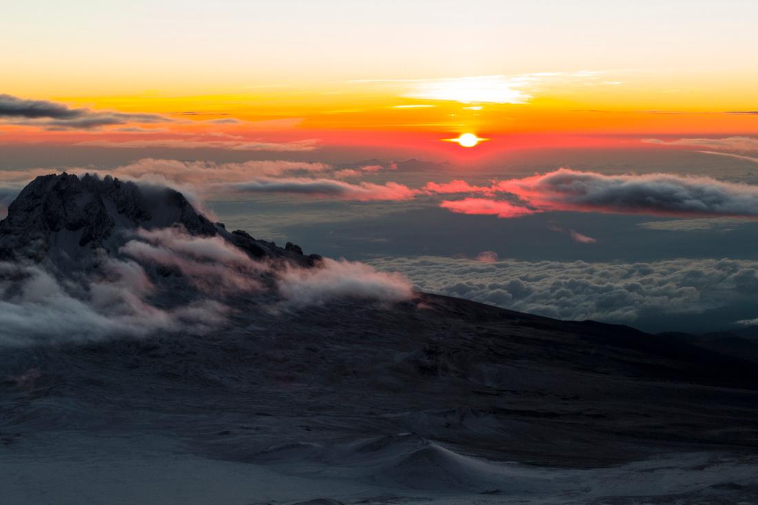 Dawn over Mawenzi Peak