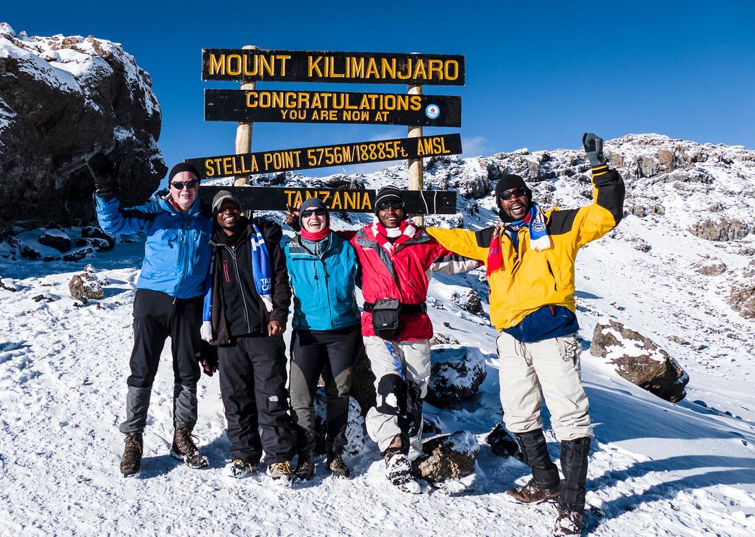 Stella Point (5,756 metres)