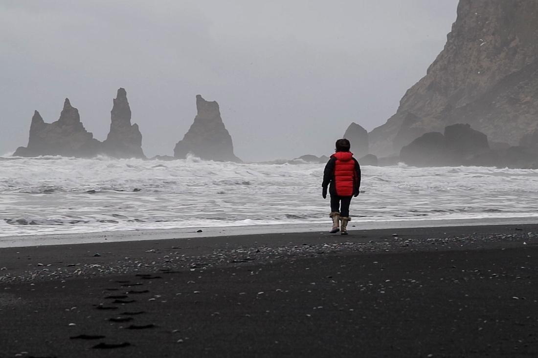 The black beach, Vík