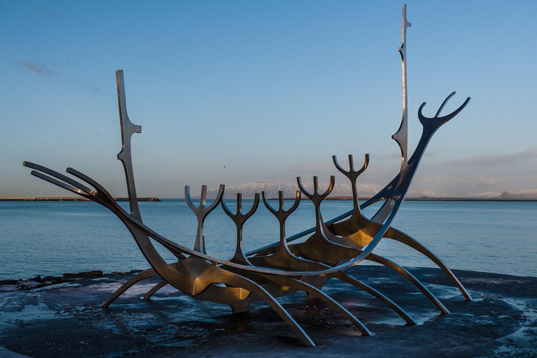 'The Sun Voyager', Sæbraut, Reykjavík