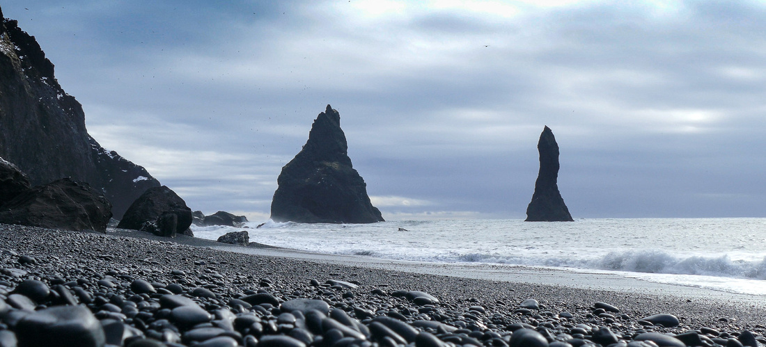 Black beach near Vík