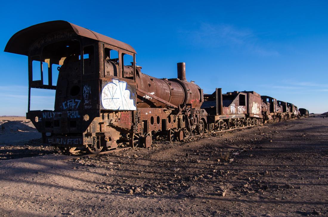 Cementario des Trenes, Uyuni
