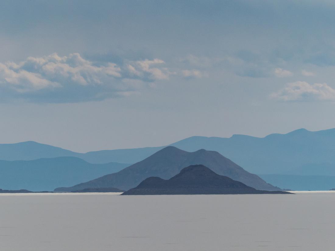 Islands in the Salar de Uyuni