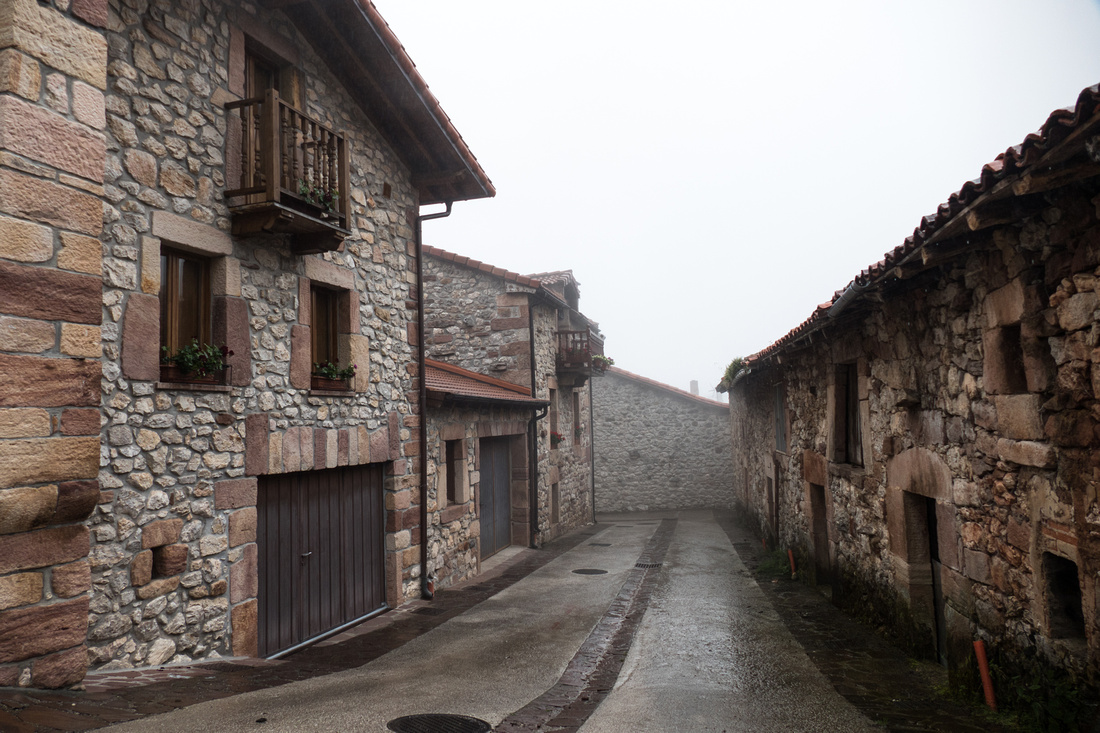 A wet day in Tresviso