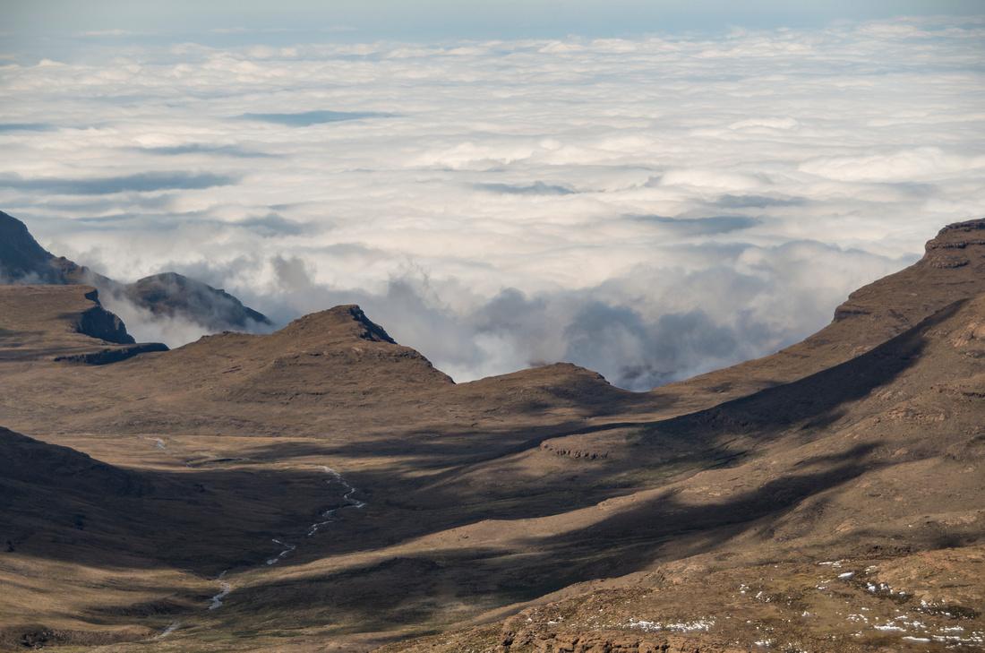 Edge of the Drakensberg Escarpment