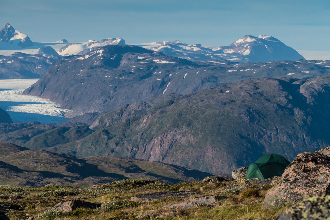Glaciers and the Greenland ice cap