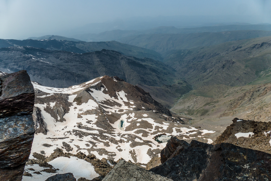 View from the summit of Mulhacén