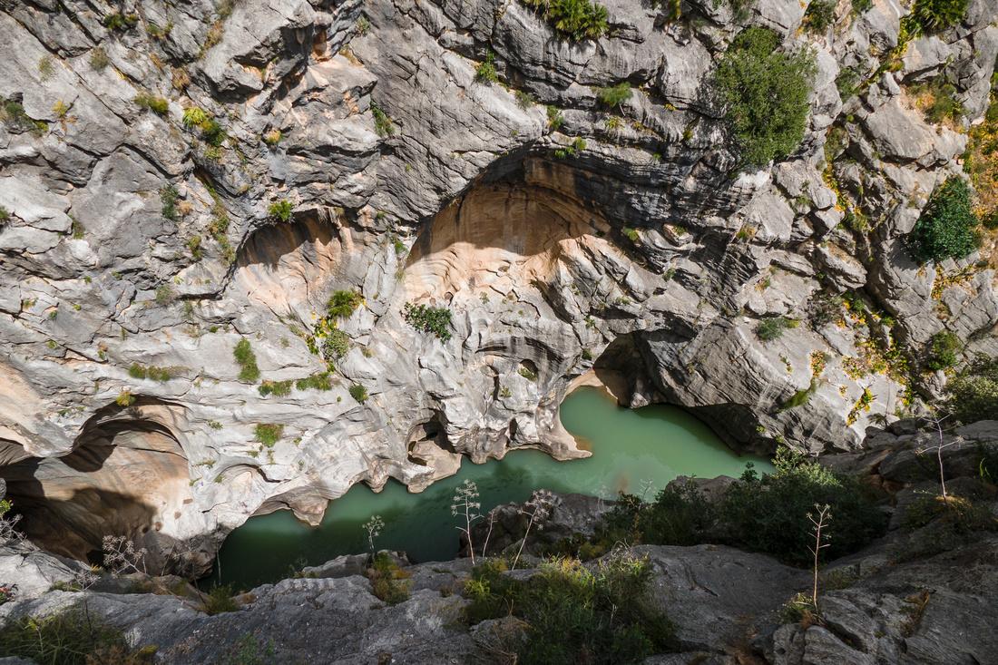 The Gaitenejo Gorge