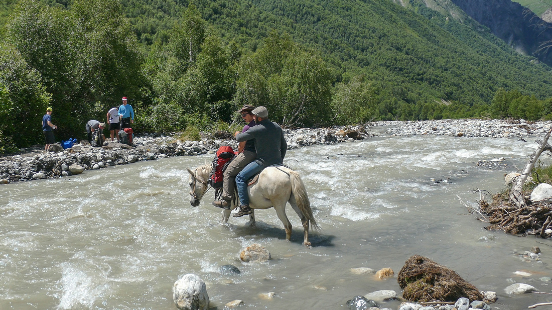 River Crossing Georgian style