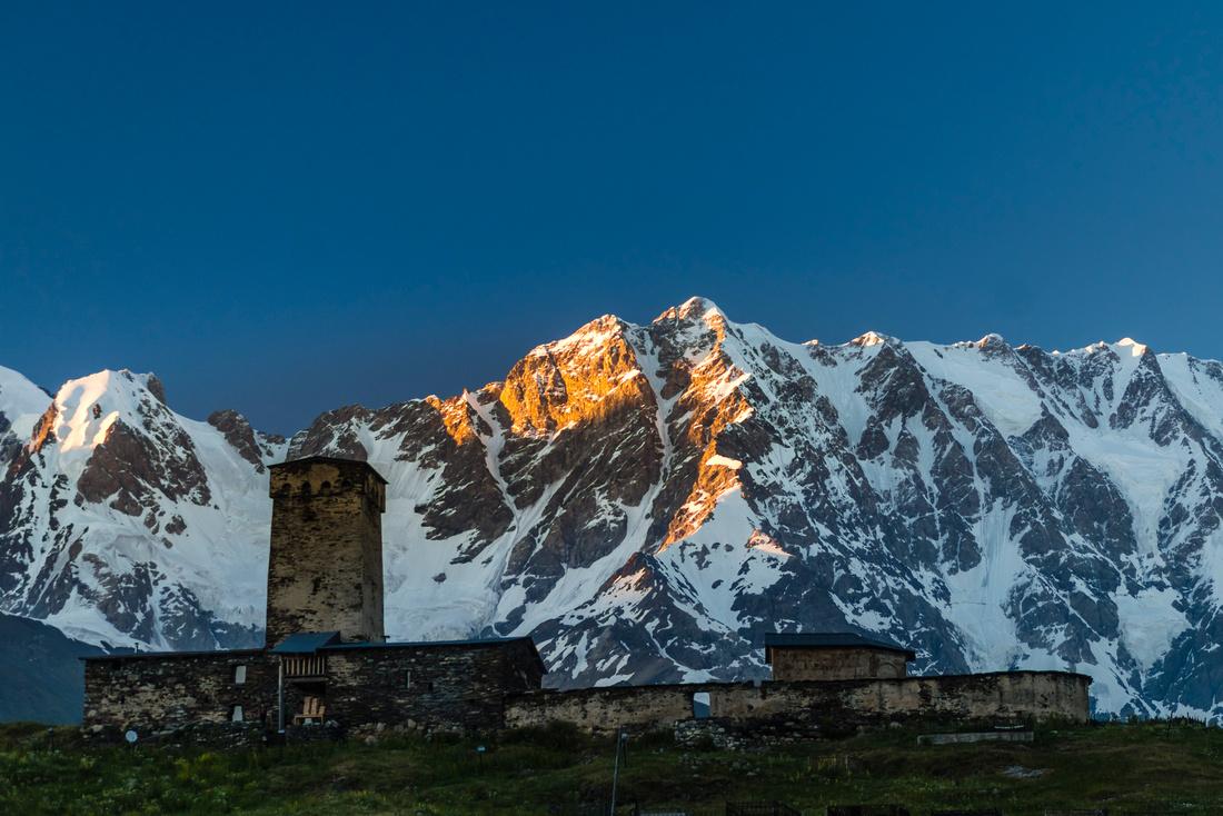 Lamria Monastery Ushguli