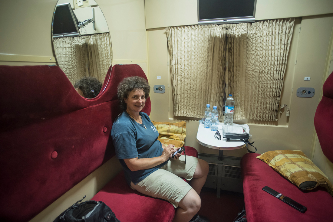 Sleeper train from Tbilisi to Zugdidi