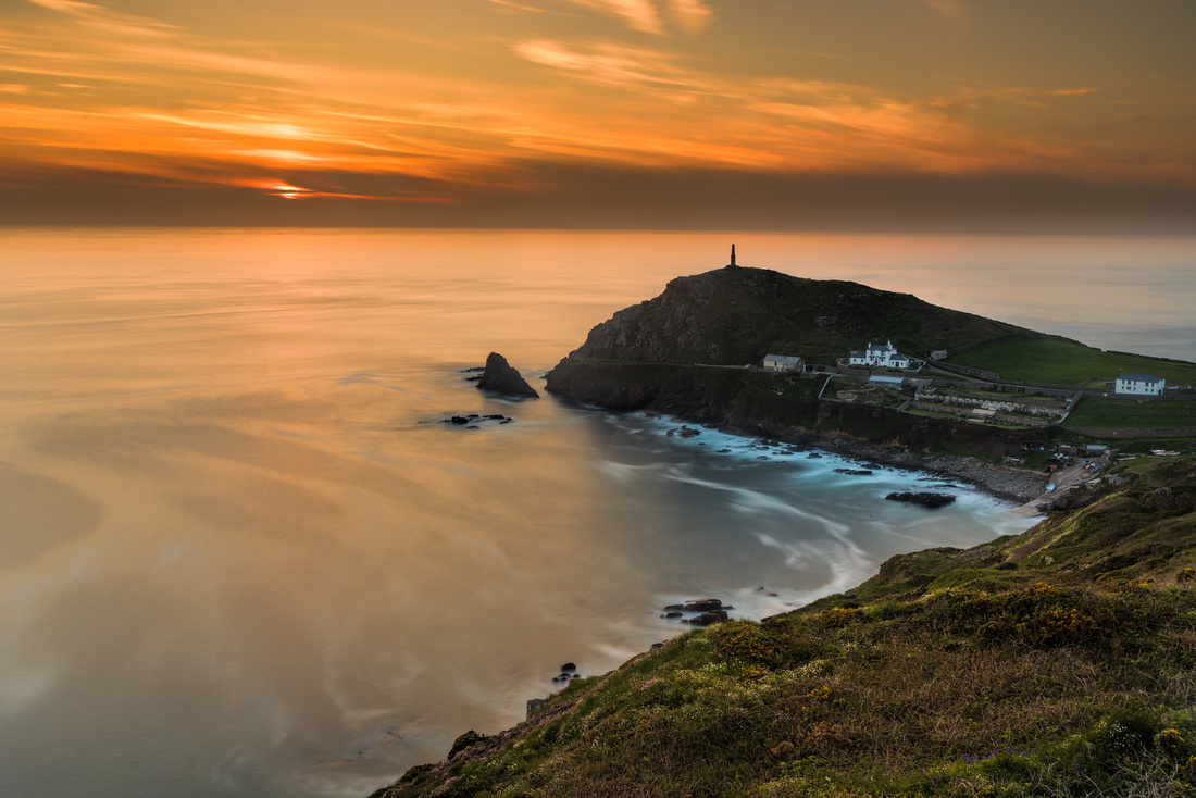 Cape Cornwall sunset