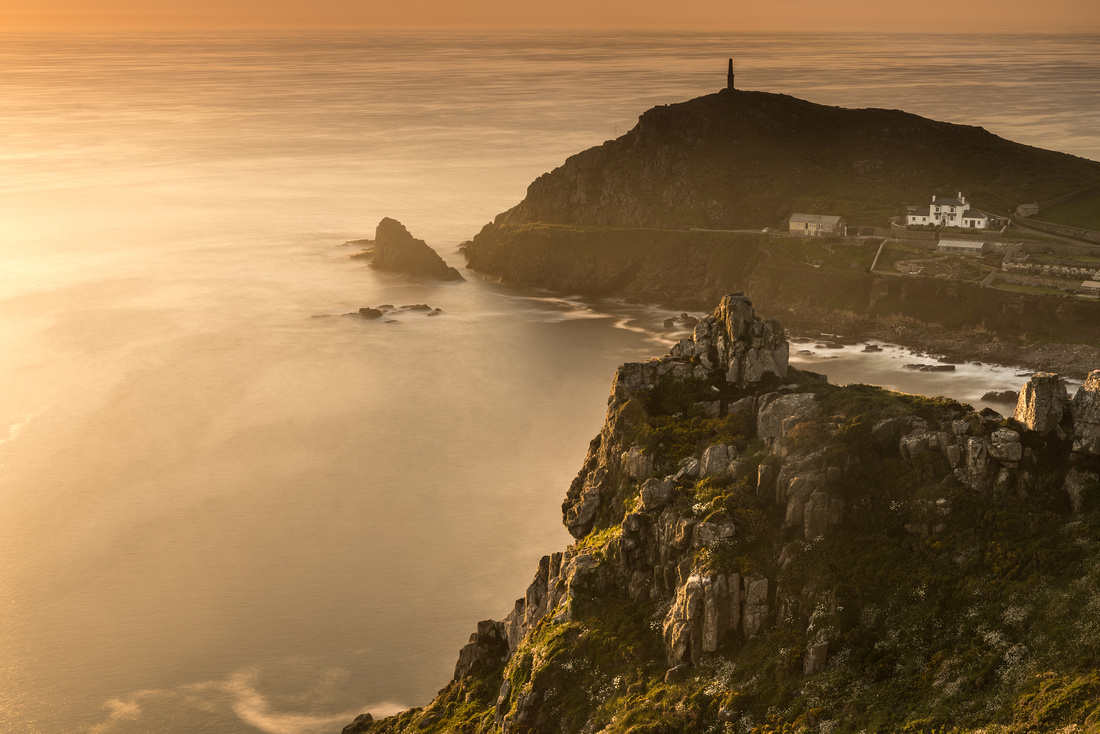 Golden hour at Cape Cornwall