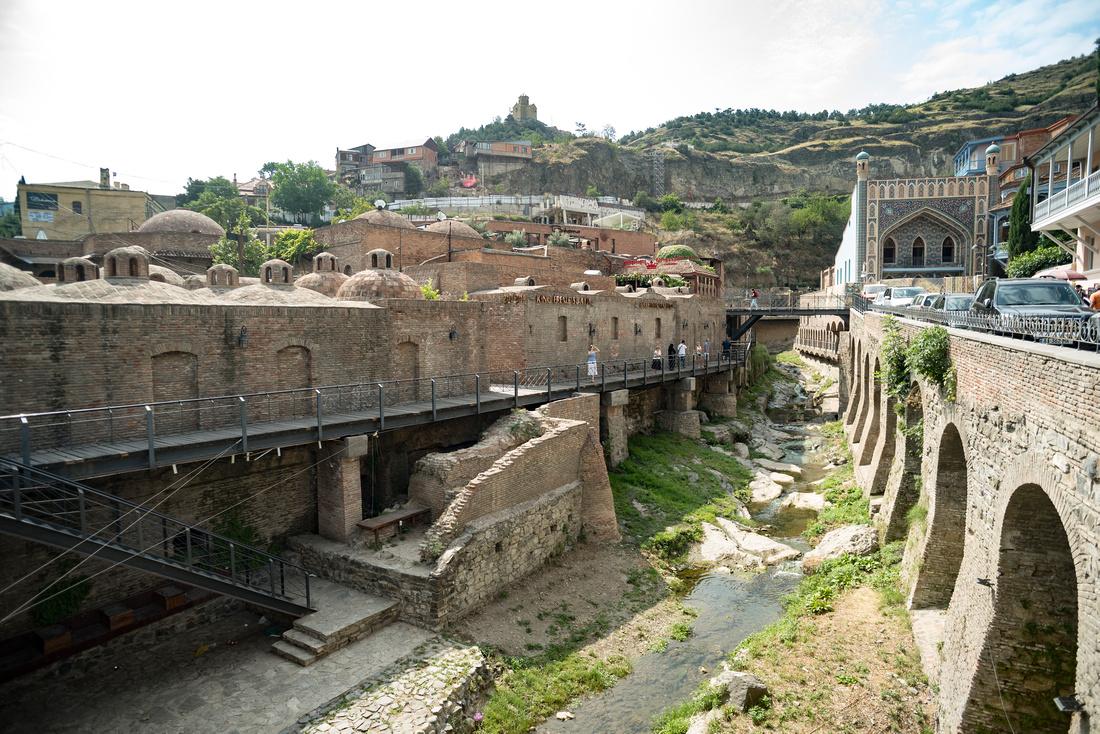 Persian bathhouses in historic Tbilisi