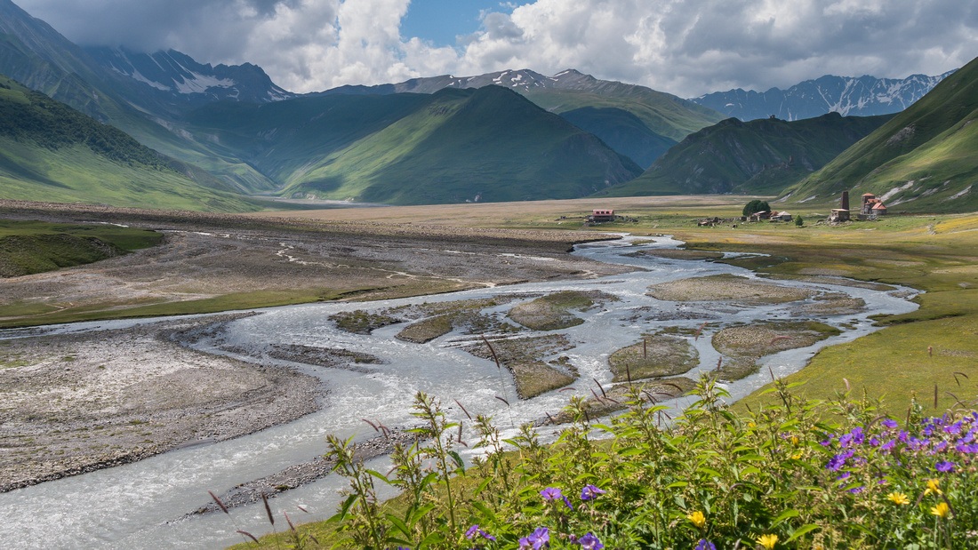 Truso Valley near South Ossetia