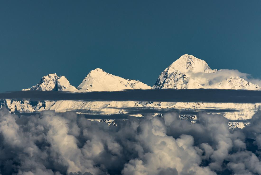 Everest as seen from Sandakphu