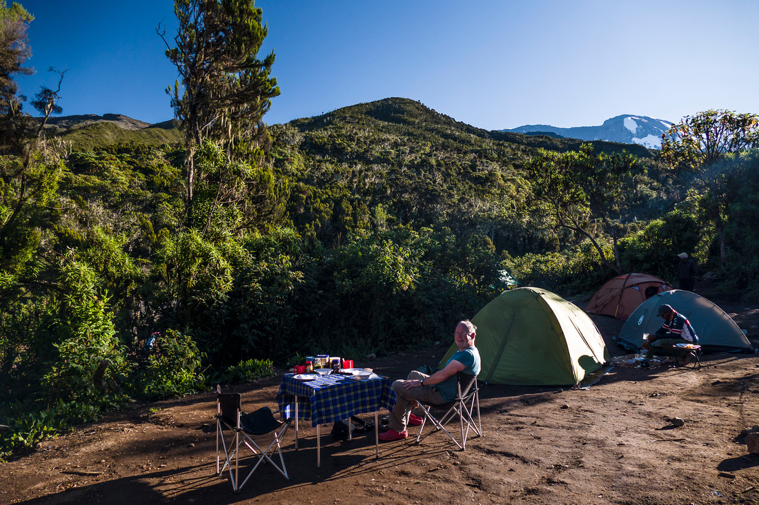 Breakfast, Machame Hut