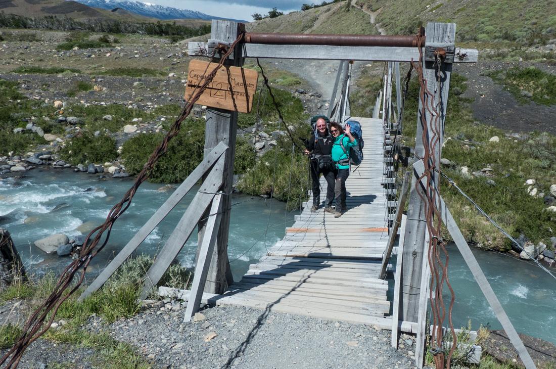 Bridge over the Río Ascencio