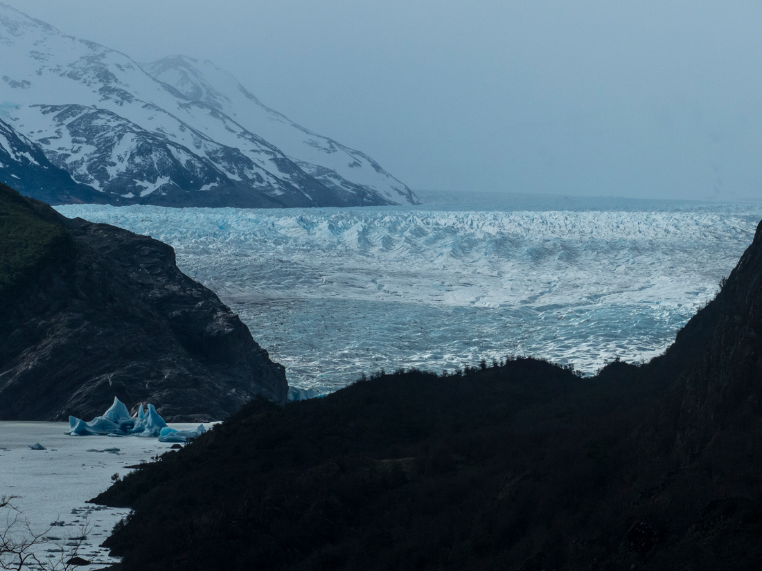 The Grey Glacier and the Southern Patagonian Ice Field